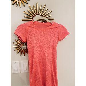 Pink Lululemon top